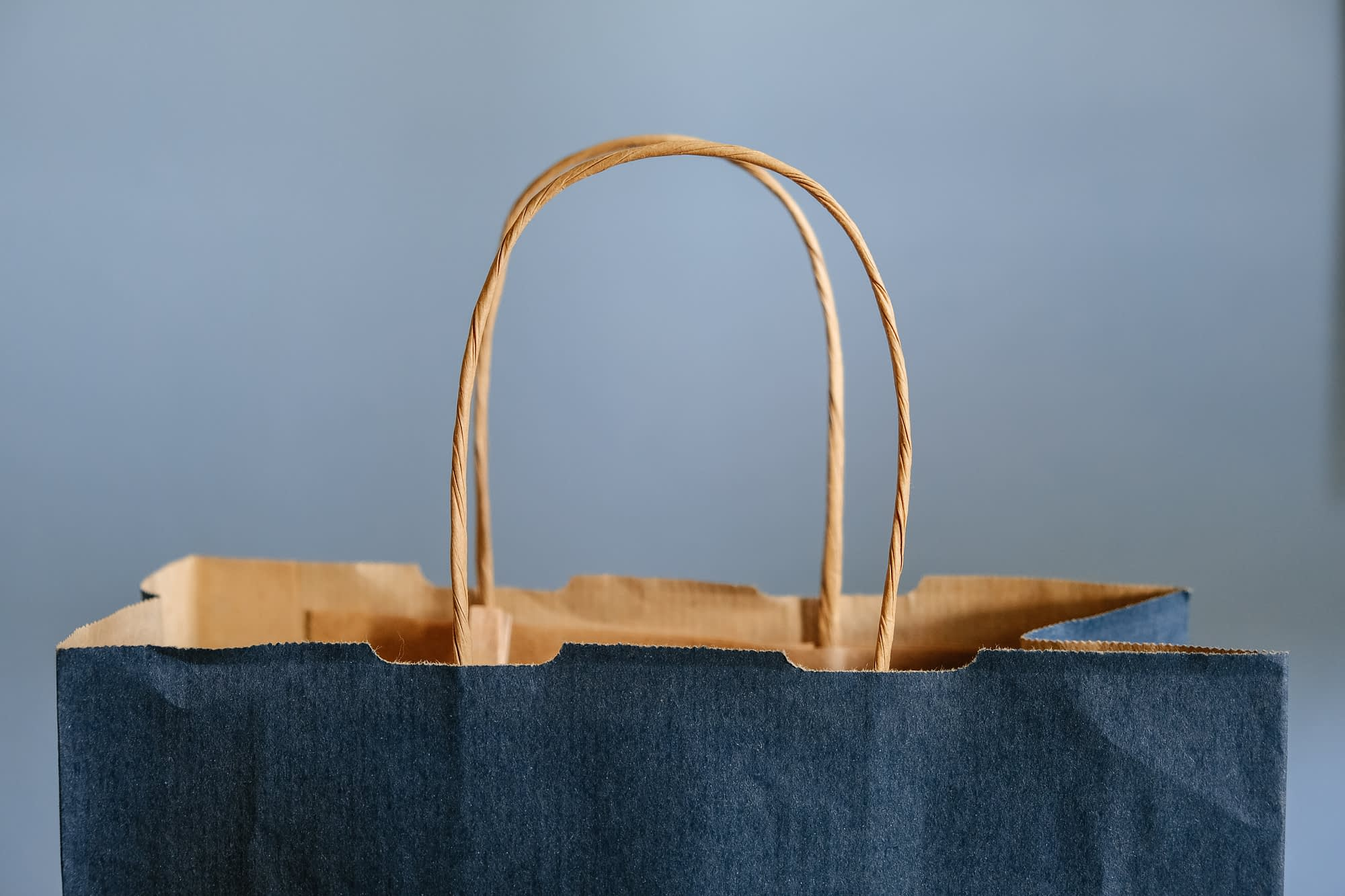 shopping bag paper sustainable eco friendly